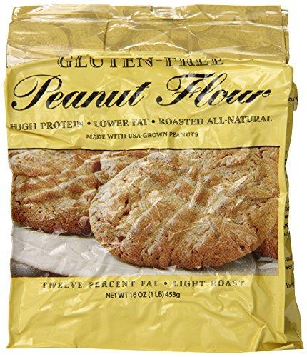 Protein Plus - Peanut Flour - Gluten Free - 16 Ounces