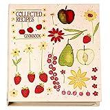 Meadowsweet Kitchens Recipe Card Cookbook Organizer-Fruit N Flowers