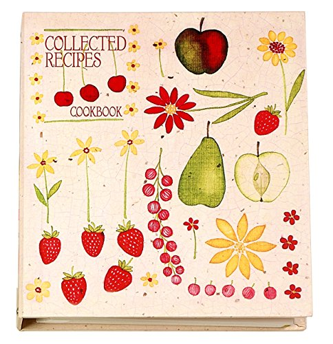 Recipe Card Cookbook Organizer - Fruit 'n Flowers ()