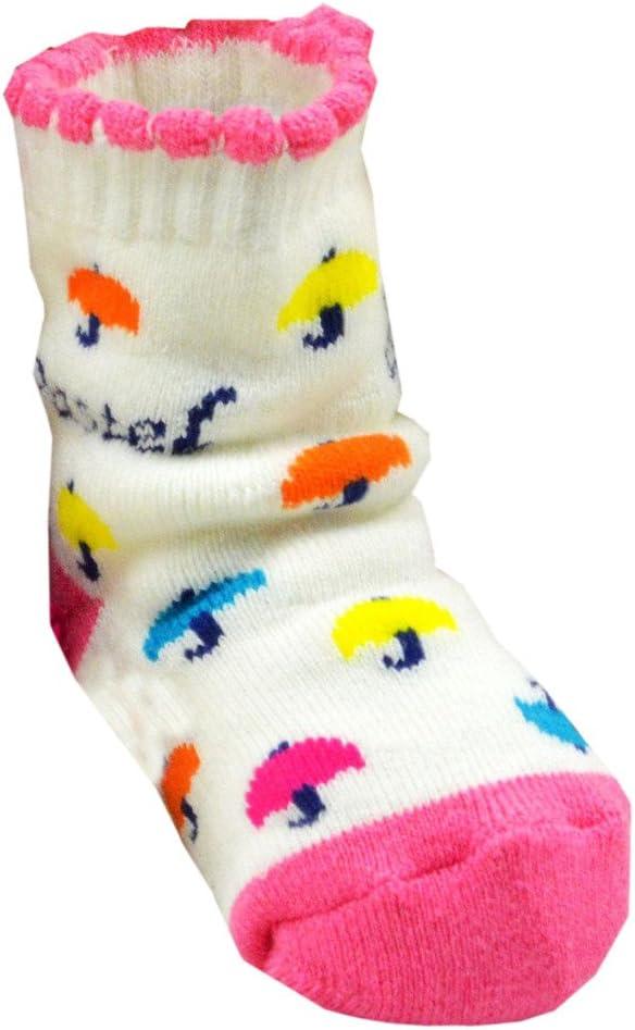 (ウォ2U)Woo2u ベビー ソックス 新生児 靴下 コットン 赤ちゃん 出産祝い ベビー シューズ 防寒 グッズ カラフル S