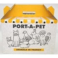 Shaws Port-A-Pet Cardboard Carry Box, Large, 38 x 25 x 26 cm