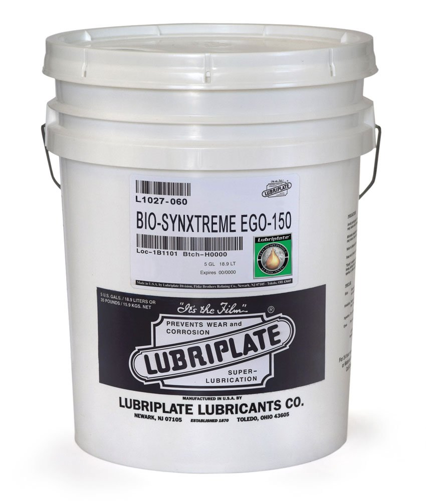 LUBRIPLATE L1027-060 BIOSYNXTREME EGO-150, 5 Gallon Pail (1)