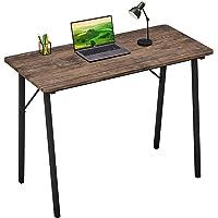 Coavas Schrijven Study-Desk Eenvoudige Computer-Desk Klein Industrieel Home Office Bureau met Metalen Poten voor…