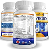 Thyroid Support Supplement - Complete Vegetarian Formula for Increased Metabolism & Effective Weight Loss - Highest Quality Natural Ingredients Including L-tyrosine, Iodine & Vitamin B12 - 61w0oLHZuuL - Thyroid Support Supplement – Complete Vegetarian Formula for Increased Metabolism & Effective Weight Loss – Highest Quality Natural Ingredients Including L-tyrosine, Iodine & Vitamin B12