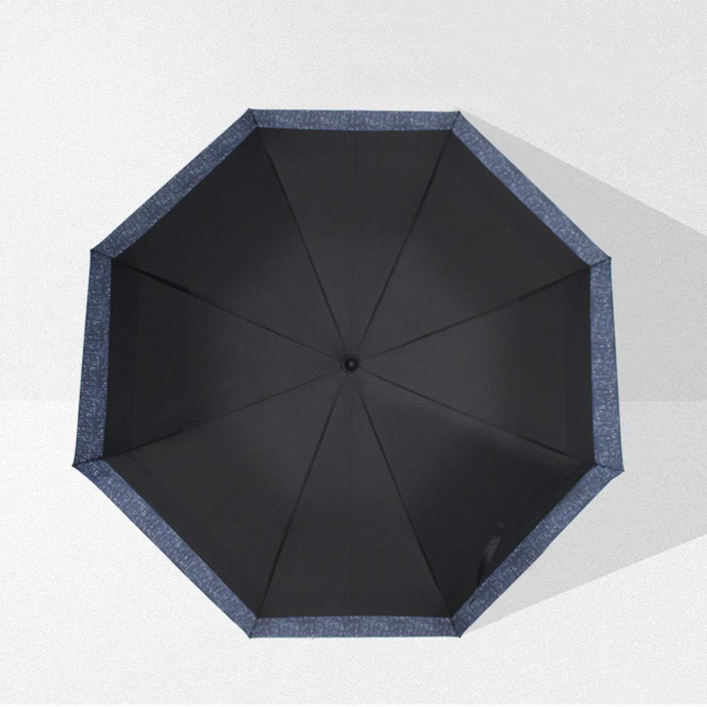 Ombrello a Manico Lungo Ombrello a 8 Gambe Stand Ombrello Doppio Doppio Antivento Antipioggia e Pioggia (colore   A)