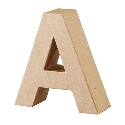 Papp Art 3D Giant Letter A: Amazon.ca: Home & Kitchen