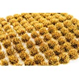 WWS Dead 6mm Self Adhesive Static Grass Tufts x 100 Wargame & Railway Deagt6100