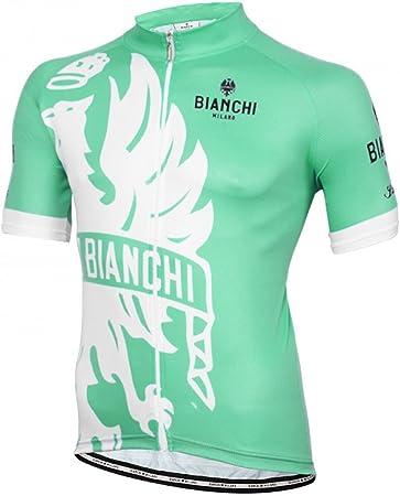 Noir//Rose Nouveau Bianchi Milano CROSIA pour femme à manches courtes maillot de cyclisme