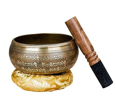 WYYSYNXB Juego de Cuenco Tibetano para Meditación Yoga ...