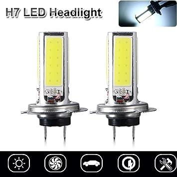 2PCS H7 80W Super White Car Head Light Bulbs Lamp Light Main Dip Beam Led