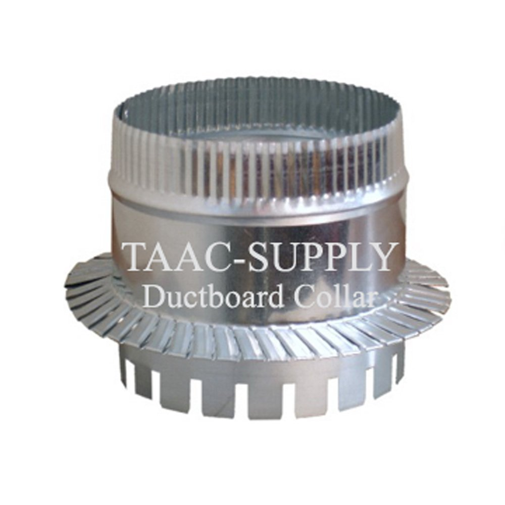 Sheet Metal Ductboard Take off Start COLLAR 10'' for HVAC Duct Work