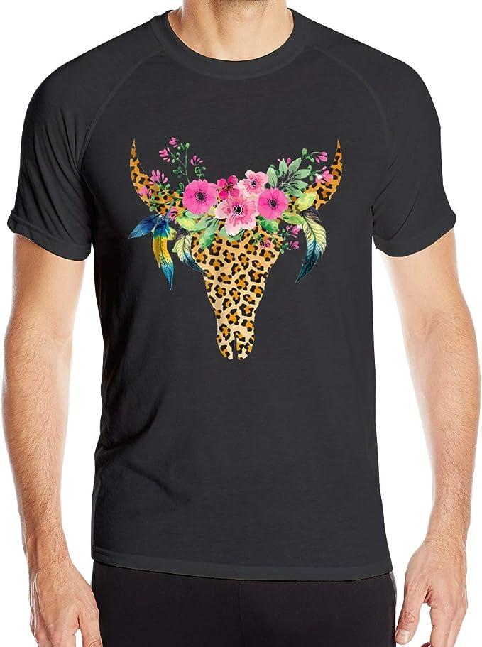 UKFaaa - Camiseta Deportiva para Hombre, diseño de Vaca ...