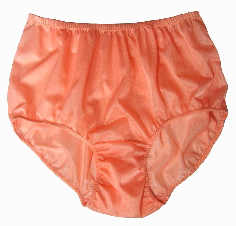 PKOR ORANGE Nylon Panties Women Ladies Underwear Briefs (2XL) at ...