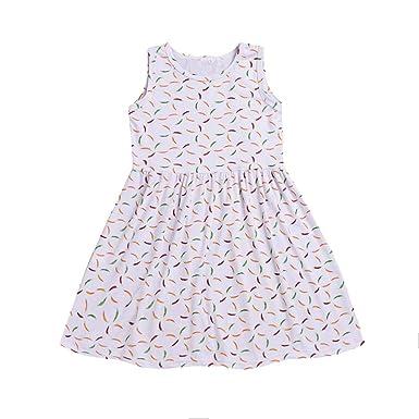 91b37ce405f LILICAT la Petite Fille Robes de Fleur D  est de Votre Ressort Est Imprimé  Patineuse