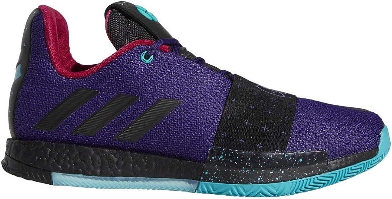 5404c0c7bfd adidas Harden Vol. 3 Shoe Mens Basketball 8 Collegiate Purple-Core  Black-Aqua