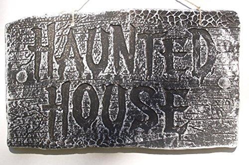 Haunted House Foam Sign (Haunted (Asylum Foam Sign)