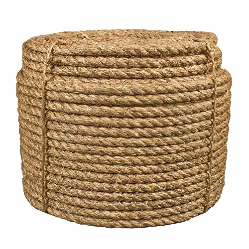 - 1 Inch by 100 Feet Manila Rope