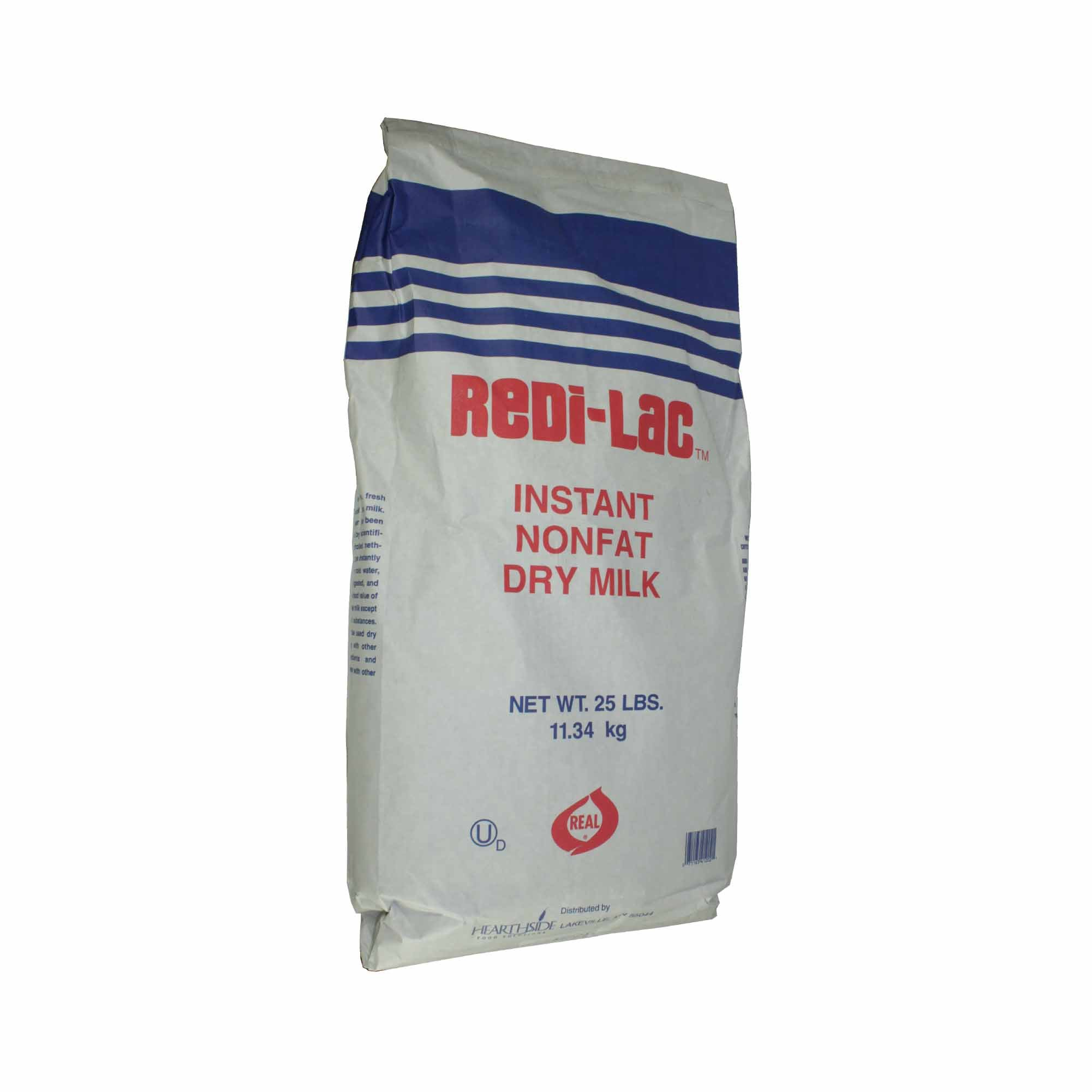 Milk Powder Instant Aggl 25 Pound