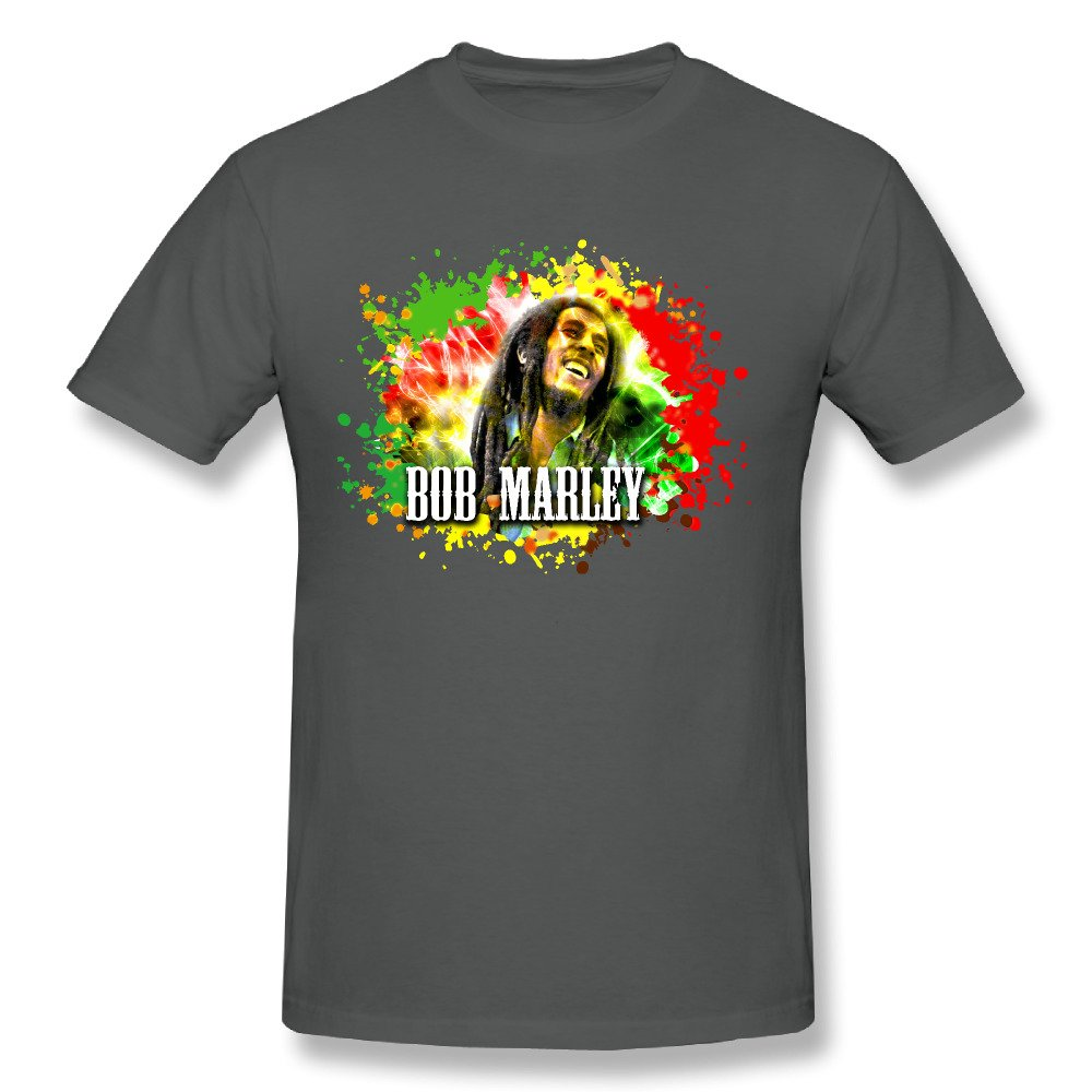 Top Selling For Fun Bob Marley Rebel Music Legend Adult T Shirt