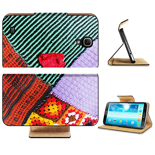 Samsung Galaxy Mega 6.3 Flip Case Fragment of handmade knitted from a synthetic yarn of a female striped spotty IMAGE 19426663 by MSD Customized Premium Deluxe Pu Leather generation Accessories HD Wif