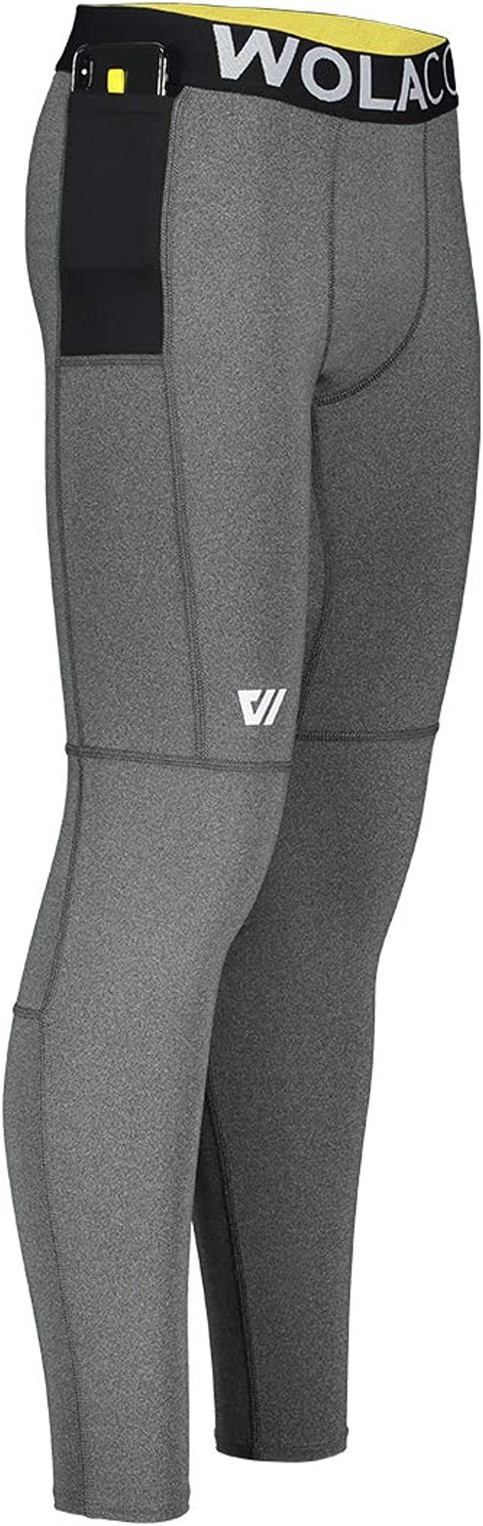 Compact Sports Activewear Made in America WOLACO Fulton Full Length Compression Pants