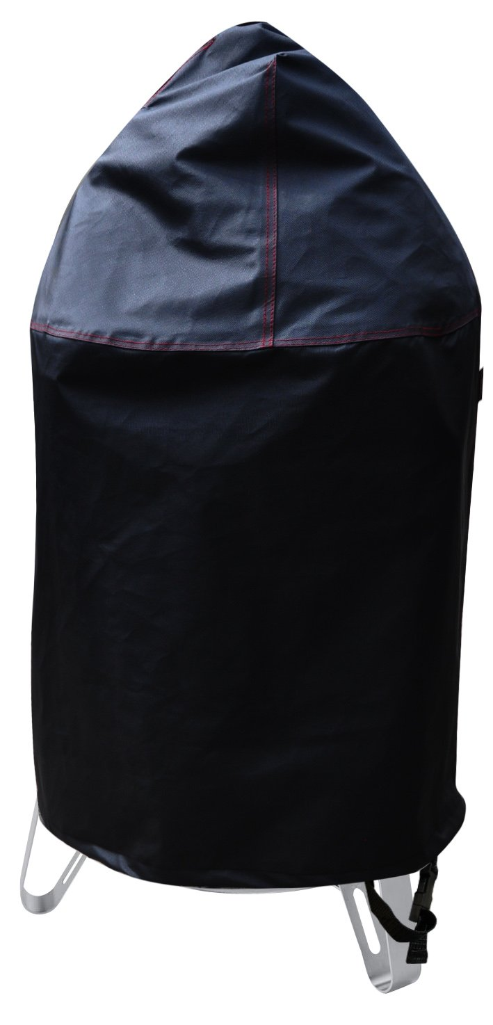 "BBQ Coverpro 99915 Vinyl Heavy Duty Smoker Cover Fit Weber 22"" Charcoal Smokey Mountain Cooker"