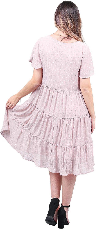 B084H29JTC Mikarose Hannah Modest Tier Dress or Modest Church Dress 61PWVZMsAiL