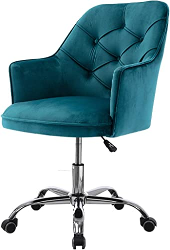 Henf Velvet Swivel Chair Living Room Chair Modern Leisure Arm Chair