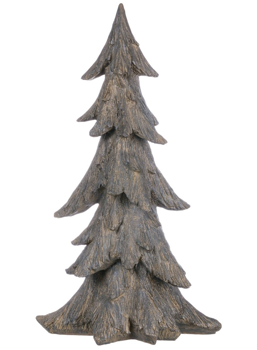 Sullivans PN2494 Authentic Looking Hand-Carved Wood, 12 x 21 x 9 Inches, Gray