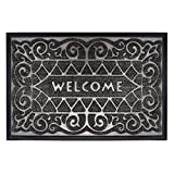 gbHome GH-6762B Premium Quality Indoor Mat | 24 x 36 inches | Interior Doormat with Anti-Skid Rubber Back | Water Absorbent, Stain Resistant, Quick Drying, Easy to Clean, Low Profile Door Mat