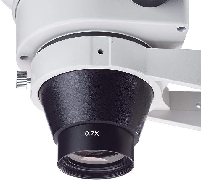 0,5 fache Barlowlinse f/ür Industrie-Videomikroskop 48mm Montagegewinde 0.5X Mikroskop Objective Lens