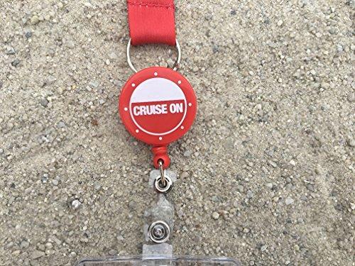 Cruise Lanyard Red Badge Reel