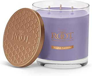 product image for Root Candles 3-Wick Hive Scented Beeswax Blend Candle, 12-Ounce, English Lavender