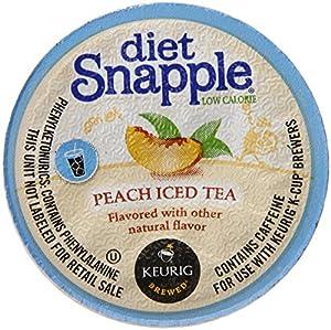 Snapple Diet Iced Tea, Peach K Cups from Snapple
