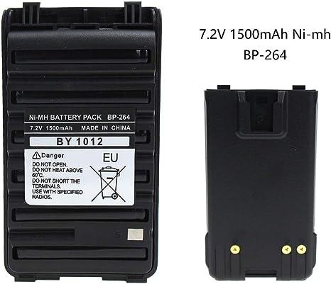 BP-264 Ni-MH Battery For ICOM IC-T70 V80 F3001 F4001 F3101 F4101 F3210 F4210