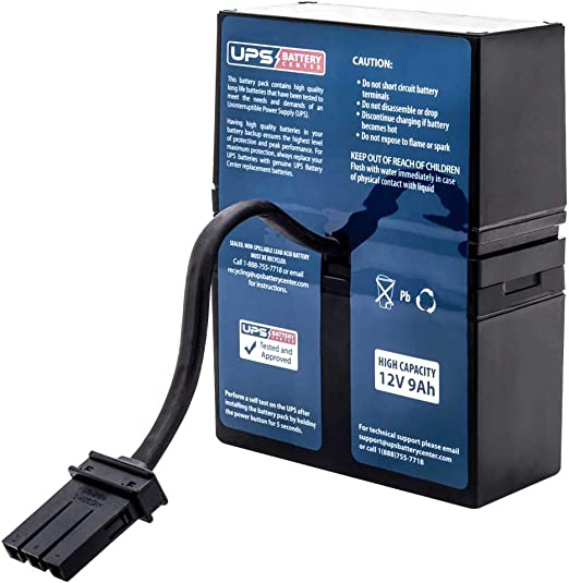 APC Smart UPS XL 1000VA SU1000XLNET Compatible Replacement Battery Pack by UPSBatteryCenter