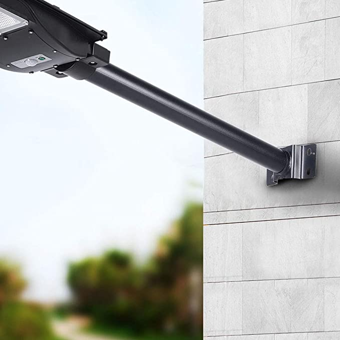 50CM Light Pole for LED Solar Wall Street Lamps with Base/&Mounting Parts U2E1