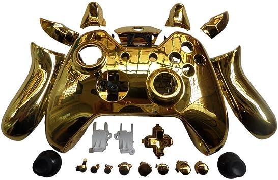 Canamite® - Carcasa para mando de Xbox One, dorado: Amazon ...