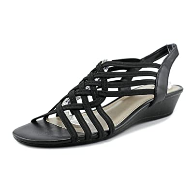 Impo Womens Refresh Strappy Low Heel Sandals Black BLK