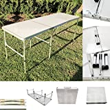 Magshion Furniture Tri-Folding Table, Aluminum, Outdoor Picnic Camping Dining Party Review
