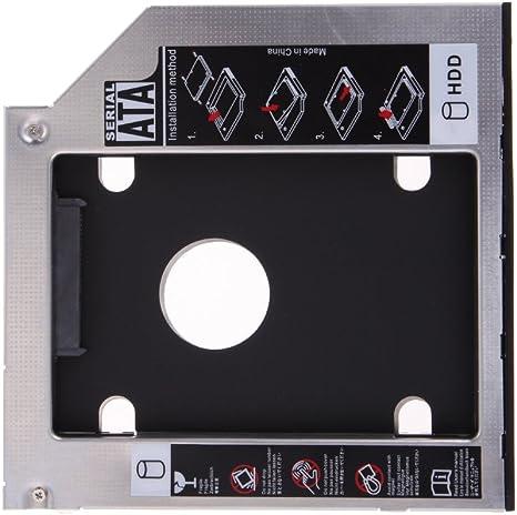 Amazingdeal365 9.5mm Universal SATA 2 º HDD SSD disco duro Caddy ...