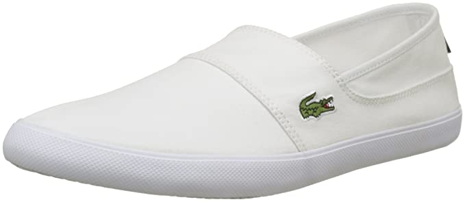 fd1355fd1b01bd Amazon.com  Lacoste Mens White Marice BL 2 CAM Trainers  Shoes