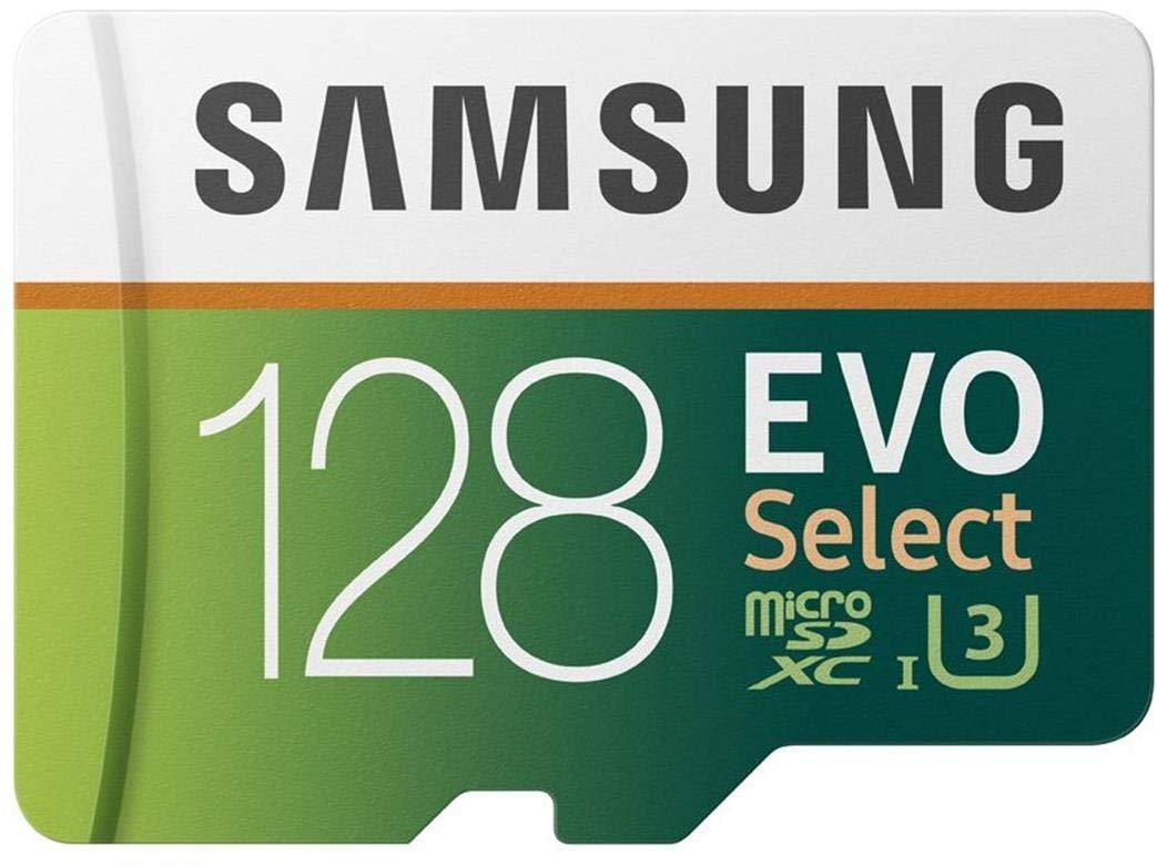 Samsung EVO Select microSDXC 512 GB Speicherkarte bis zu 100 MB//s UHS-I U3 inkl. SD Adapter