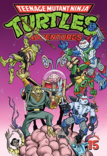 Amazon.com: Teenage Mutant Ninja Turtles Adventures Vol. 15 ...