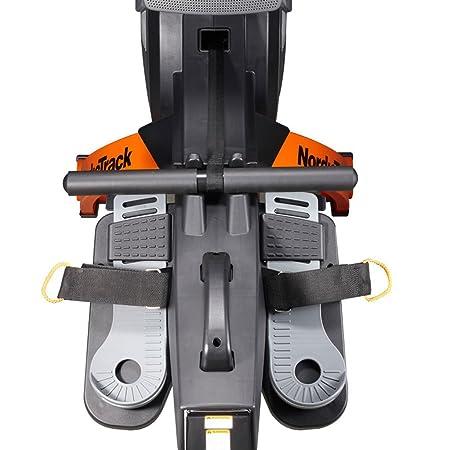 KY Máquinas de Remo Máquina de remos para el hogar/Resistencia Ajustable, computadora Multifuncional, Contador de Calorías, portavasos, Diseño Plegable: ...
