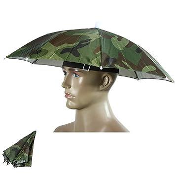 Sombrero de camuflaje para el aire libre, sombrero, sombrero de sombrero portátil, sombrero