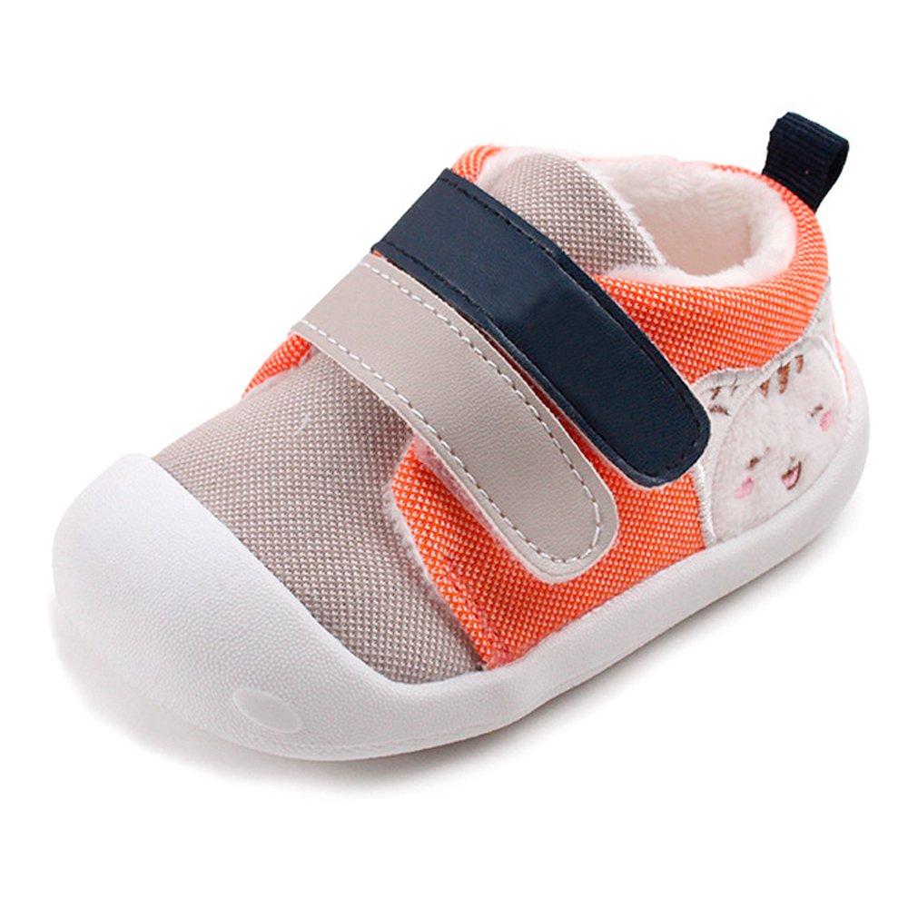 KINDOYO Infantil Beb/é del beb/é del ni/ño de la muchachasole Suave c/álido Zapatilla de Deporte Primeros Pasos Zapatos