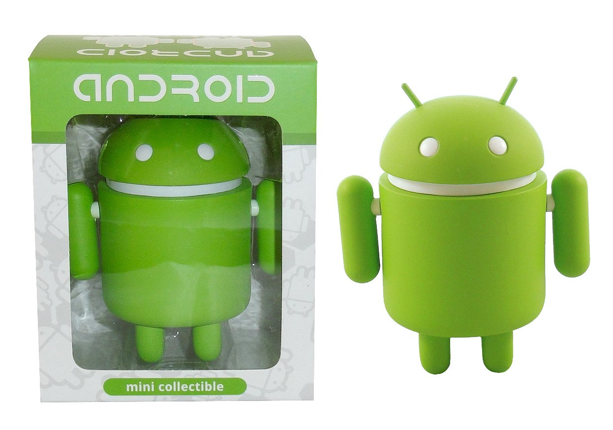 Android Big Box Edition Mini Collectible Figure, Green Guy