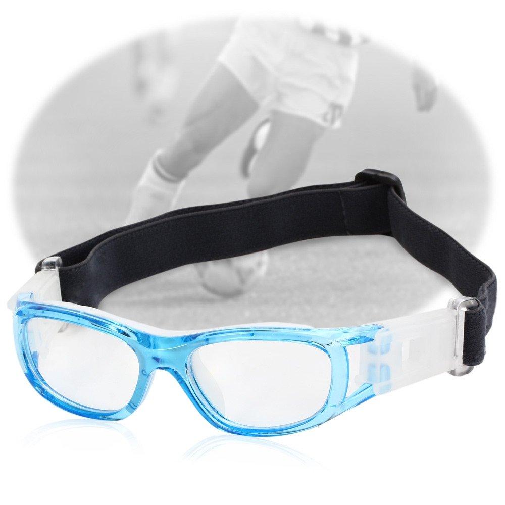 f/ür Babys Blau Polycarbonat Basketball DDG EDMMS Sportbrille Sportbrille Fu/ßball