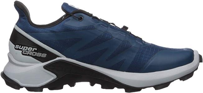 SALOMON Shoes Supercross, Zapatillas de Running para Hombre, Azul (Poseidon/Pearl Blue/Black), 40 EU: Amazon.es: Zapatos y complementos